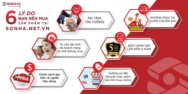 Lý do nên mua bếp điện từ Sơn Hà SHK-8221 tại sonha.net.vn