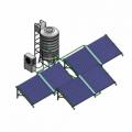 Thái dương năng giàn công nghiệp 40 ống 500 lít Φ 58